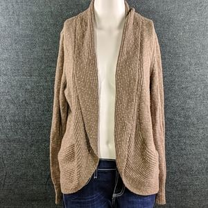 Kenneth Cole Open Front Sweater